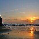 Porthtowan Sunset by AndyReeve
