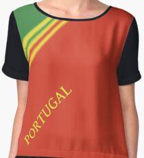 PORTUGAL - SPORTS FAN EDITION Chiffon Top