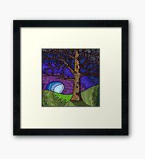 Tree Brown Framed Print