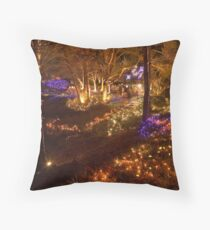 festival of lights , VanDusen botanical garden , Vancouver , Canada Throw Pillow