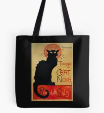 'Tournee du Chat Noir' by Theophile Steinlen (Reproduction) Tote Bag