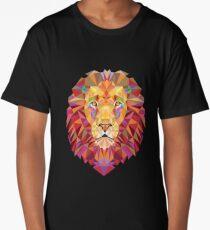 Geometric Lion Long T-Shirt