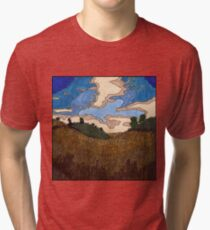 Wheat Field Tri-blend T-Shirt