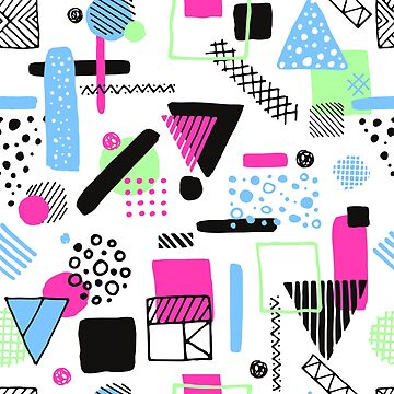 Retro Pattern 1 by EsotericExposal