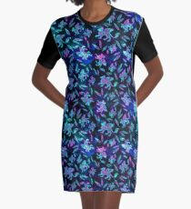 Gryphon Batik - Jewel Tones Graphic T-Shirt Dress