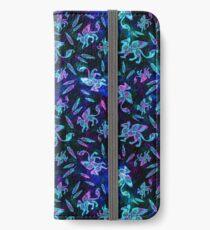 Gryphon Batik - Jewel Tones iPhone Wallet/Case/Skin