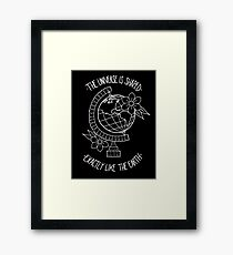 Third Planet Framed Print