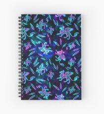 Gryphon Batik - Jewel Tones Spiral Notebook