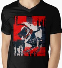 Dancer in The Street Grunge style  Men's V-Neck T-Shirt
