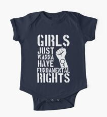 Girls just wanna have fundamental rights. One Piece - Short Sleeve
