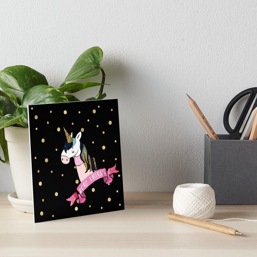 Born Unique - Unicorn by Laura-Lise Wong