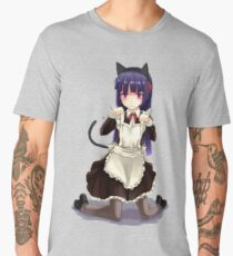 Kuroneko Animé - Sticker Men's Premium T-Shirt