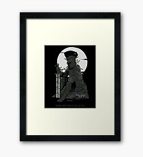 Hero Without a Cause Framed Print