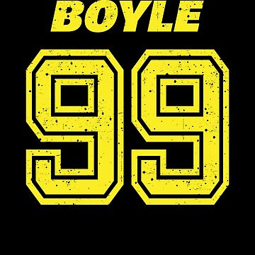 Brooklyn Nine Nine Boyle Team Number 99 Shirt by Clort