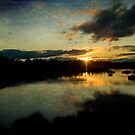 Marsh Sunset by Jonicool