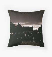 Leiden At Dusk I Throw Pillow