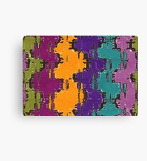 Colorful spots Canvas Print