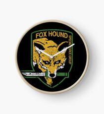 Foxhound Clock