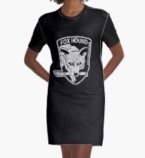 Foxhound (Variant) Graphic T-Shirt Dress