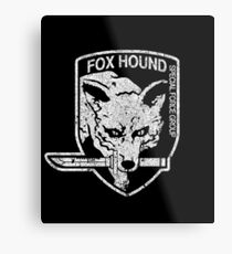 Foxhound (Variant) Metal Print