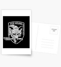 Foxhound (Variant) Postcards