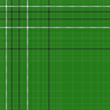 Off-center green plaid by FireLemur