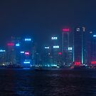 Hong Kong Bay by Guillaume Marcotte