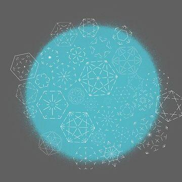 Geometrischer Spray von justonedesign