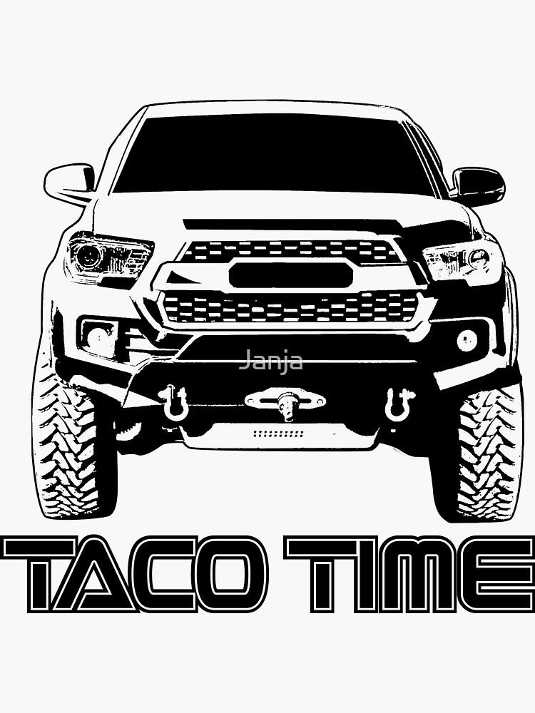 Taco Time- Toyota Tacoma 3rd Gen de Janja