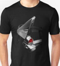 1957 Chevy Bel Air - Black Unisex T-Shirt