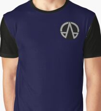 OPA Navy Badge Graphic T-Shirt