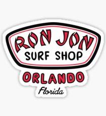 RJ Surf Shop Orlando Florida Sticker