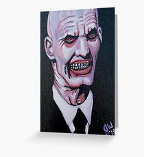 Gentlemen, Hush, Buffy the Vampire Slayer, Creepy Painting Greeting Card