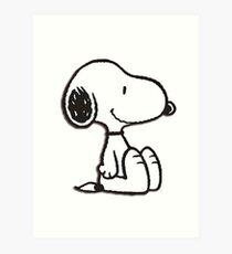 Snoopy! Art Print