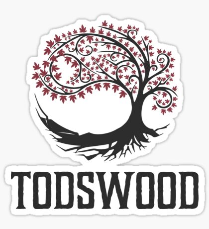 TODSWOOD Glossy Sticker
