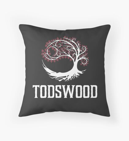 TODSWOOD Throw Pillow