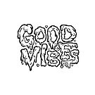 Good Vibes (Black and white) by Strange City