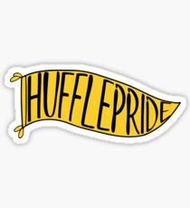 Hufflepride Banner Sticker