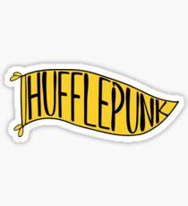 Hufflepunk Banner Sticker