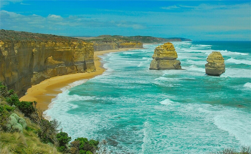 Gibson's Beach Bay by Penny Smith