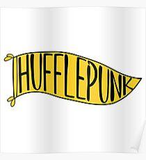 Hufflepunk Banner Poster
