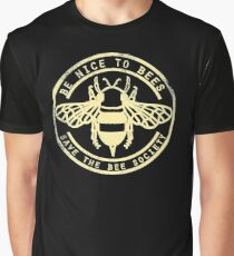 Save The Bee Society Graphic T-Shirt