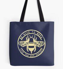 Save The Bee Society Tote Bag