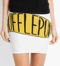 Hufflepunk Banner Mini Skirt