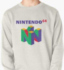 Sudadera sin capucha Nintendo 64 Retro logo