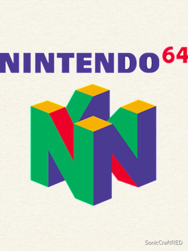 Nintendo 64 Retro logo by SonicCraftRED