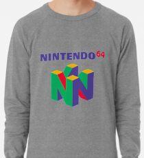 Nintendo 64 Retro-Logo Leichter Pullover