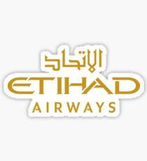 Etihad Airways Logo Sticker