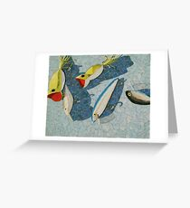 """""""lures"""" Greeting Card"""