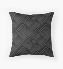 Optical Art | Op Art | The Abstraction of Cubist Collage Floor Pillow